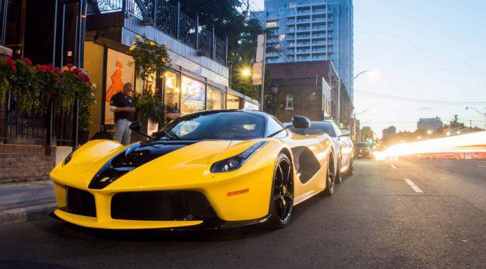 Unique 'Black n Yellow' LaFerrari from Toronto