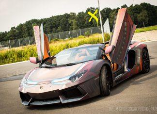 Lamborghini Aventador Iron Man