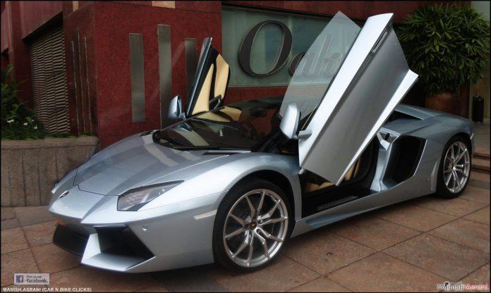 Lamborghini Aventador Roadster Bangalore