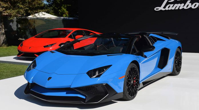 Monterey 2015: Lamborghini Aventador SV Roadster