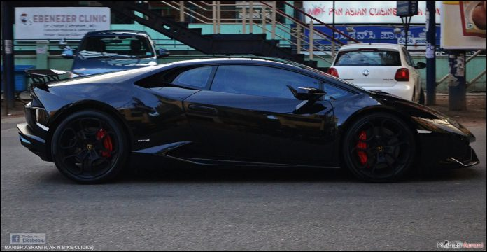 Lamborghini Huracan Bangalore Black