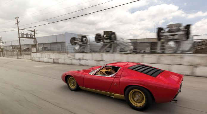 Lamborghini Miura SV auction rear
