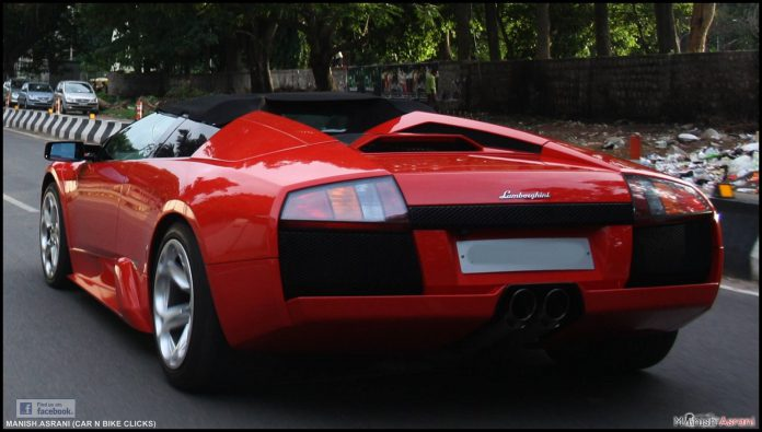 Lamborghini Murcielago Roadster Bangalore
