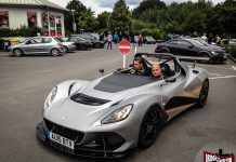 2016 Lotus 3 Eleven Snapped at the Nurburgring