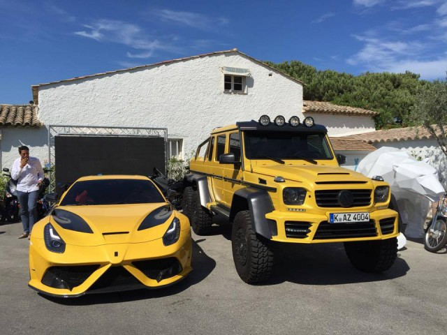 Mansory Ferrari and Mercedes