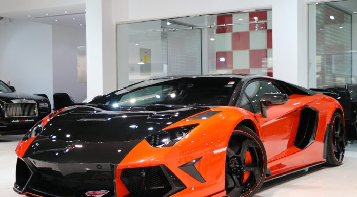 Mansory Aventador for sale front