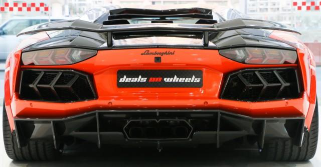 Mansory Aventador for sale rear