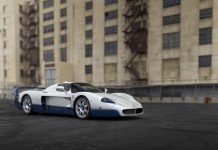 Maserati MC12 auction front