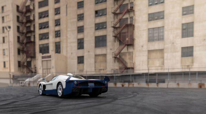 Maserati MC12 auction rear