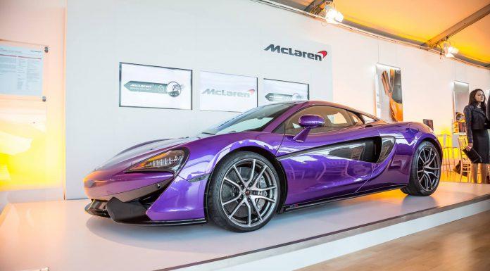 Purple McLaren 570S