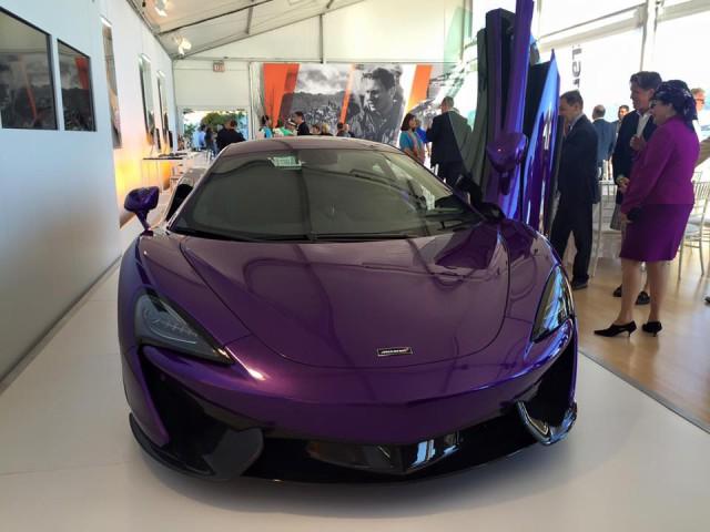 Purple McLaren 570S by MSO