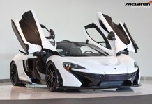 For Sale: Alaskan Diamond White McLaren P1 with 920 Miles