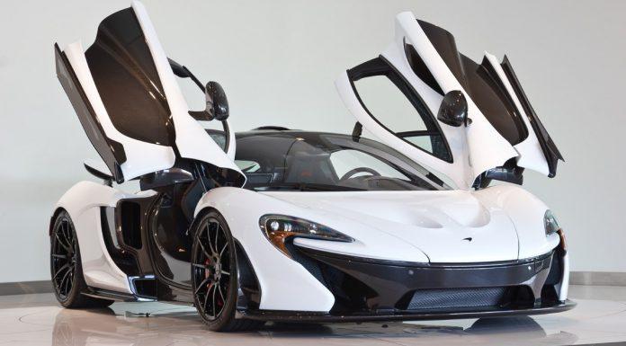 For Sale: Alaskan Diamond White McLaren P1 with 920 Miles