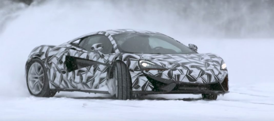 McLaren Sports Series tested to the extremes