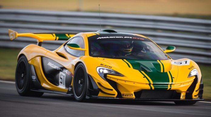 McLaren P1GTR Driver Programme