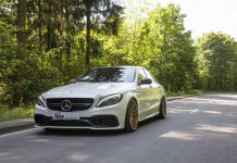 Mercedes-AMG C63 S with KW Coilovers