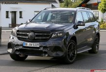 Mercedes-AMG GLS 63 spy shot