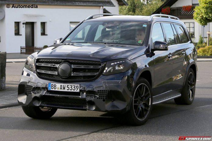 Mercedes-AMG GLS 63 spy shot