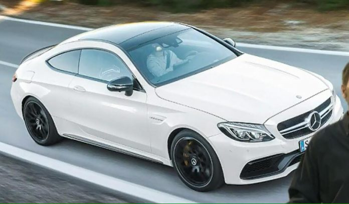 Mercedes-AMG C63 Coupe S leaked front