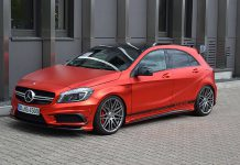 Mercedes-Benz A45 AMG by Folien Experte