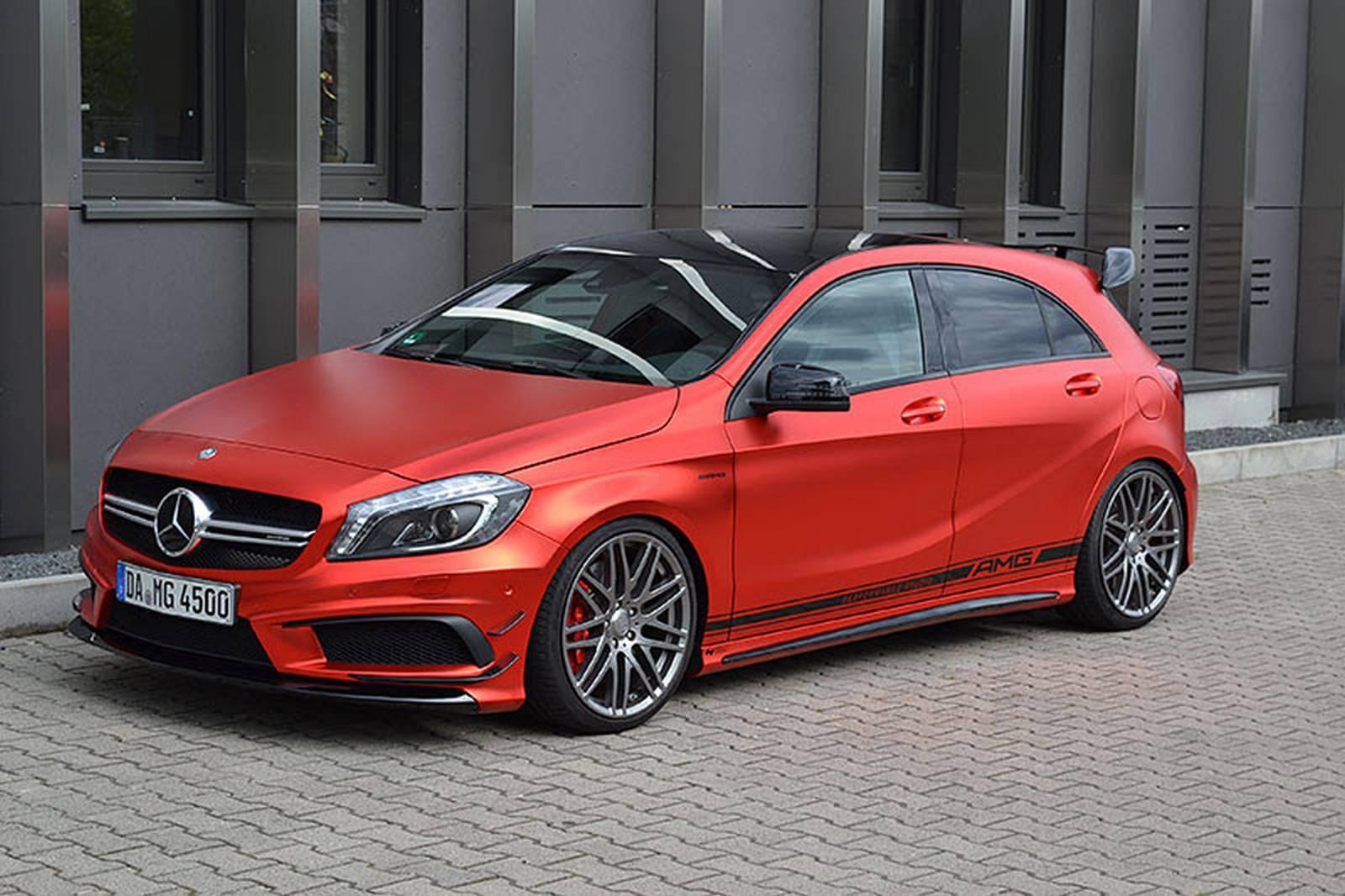 Mercedes benz a45 amg by folien experte gtspirit for Mercedes benz amg a45