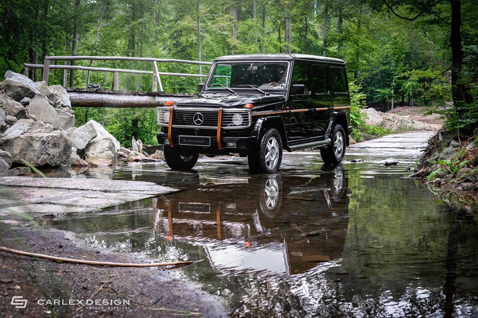 Mercedes-Benz G-Class by Carlex Design front