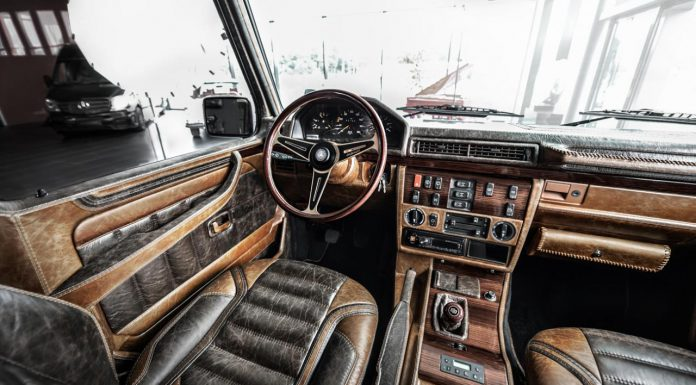 Mercedes-Benz G-Class by Carlex Design interior