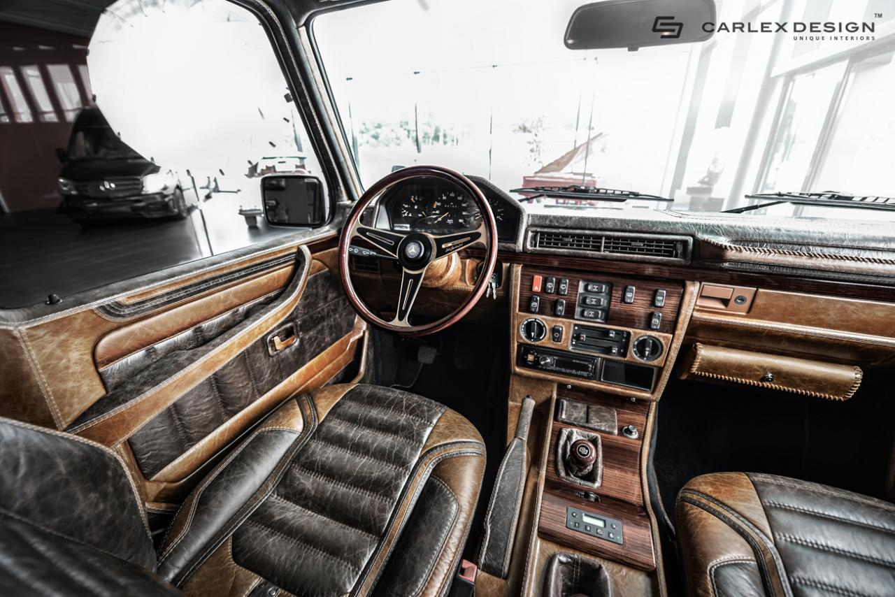 Tuningcars 1990 mercedes benz g class by carlex design for Interior decoration 1990s