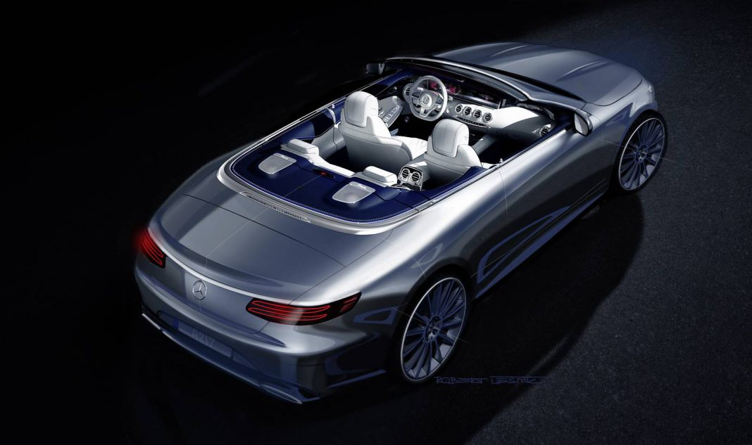 Mercedes-Benz S-Class Coupe Cabrio Teased