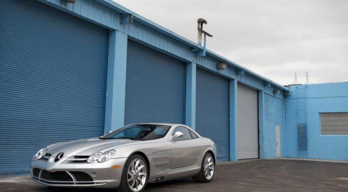 Mercedes-Benz SLR McLaren auction front