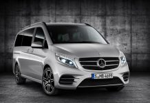 Mercedes V-Class AMG Line front