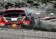 FIA Rallycross Peugeot Norway RX Hell RX