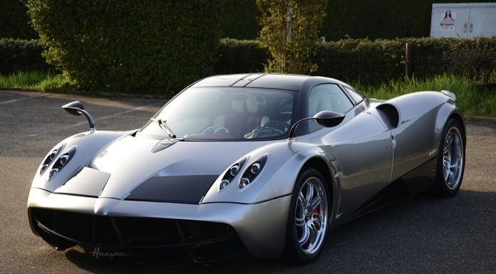 Pagani Huayra for sale in the UK front