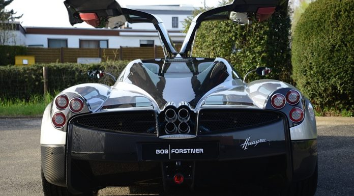 Pagani Huayra for sale in the UK rear