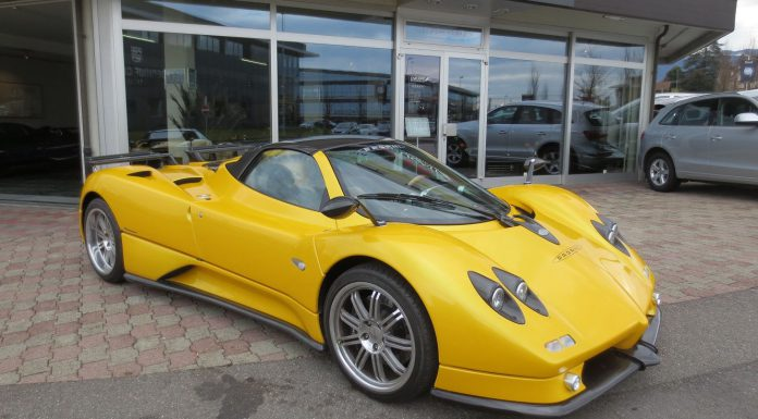 Pagani Zonda S Roadster 7.3 For Sale at $2.2 Million in Switzerland