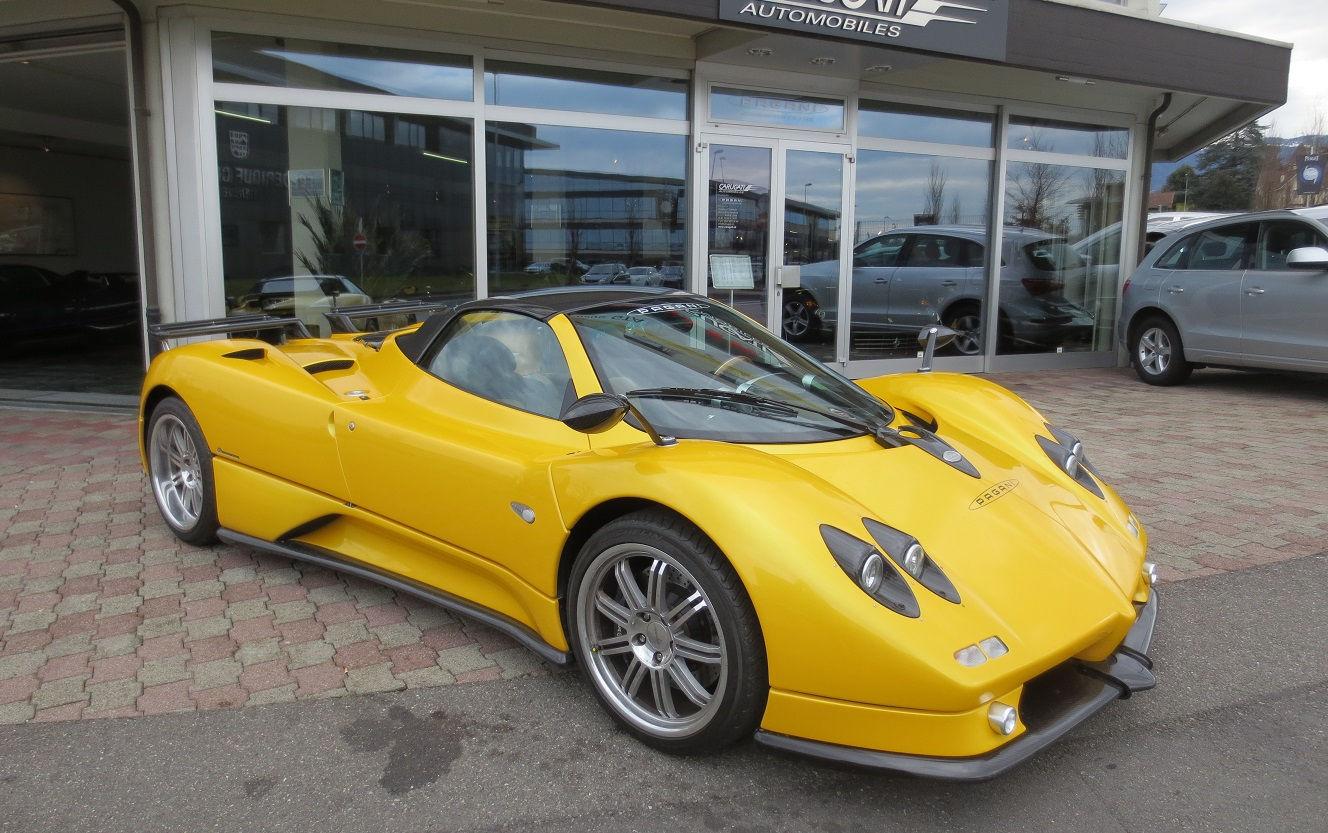 Pagani Zonda S Price Supercars Gallery