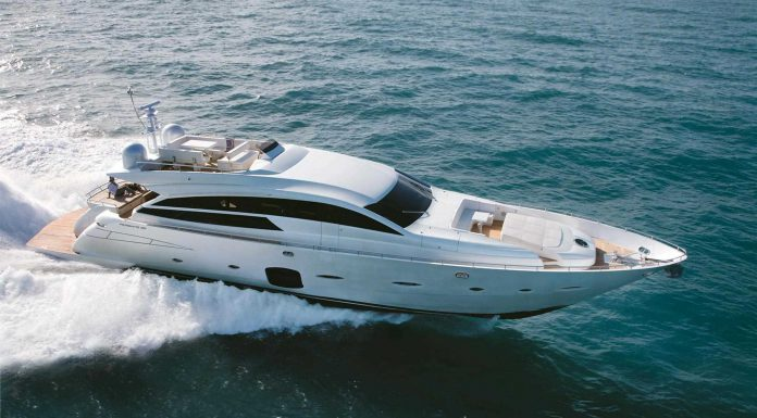 Pershing Yacht 92 Serves the Thrill for Speed and Luxury