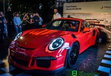 Porsche 911 GT3 RS Launch Lebanon 2