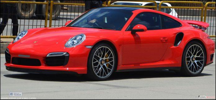 Porsche 911 Turbo S Bangalore Red