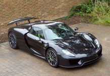 Porsche 918 Spyder For Sale front