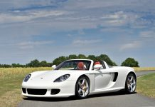 Porsche Carrera GT auction