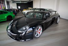 Black Porsche Carrera GT for sale