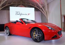 Red Ferrari California T India
