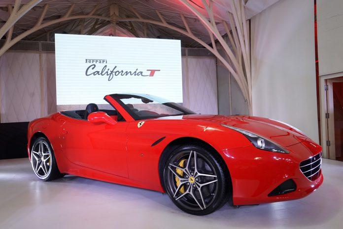 Red Ferrari California T India