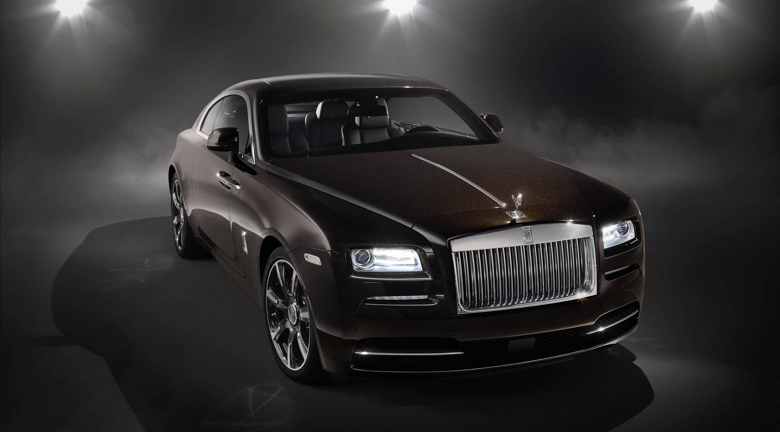 ' by the arts has just been unveiled. Dubbed the Rolls-Royce Wraith ...