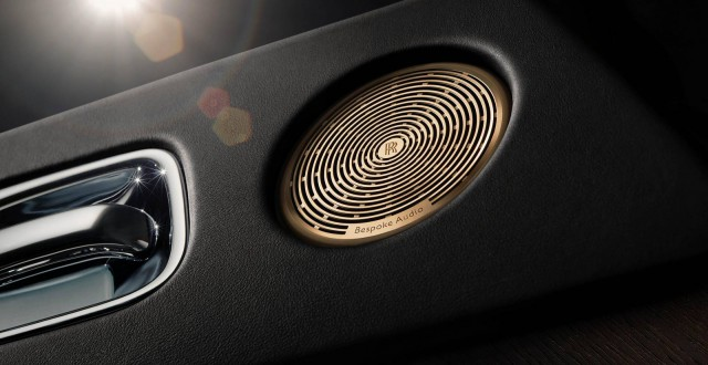 Rolls-Royce Wraith audio system
