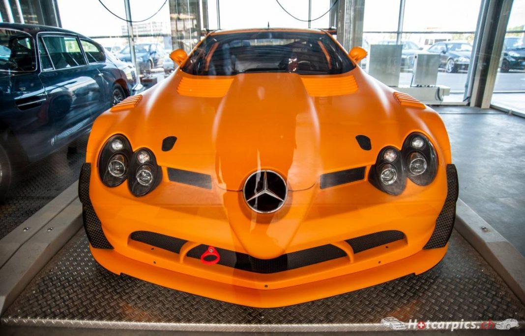 Rare Mercedes-Benz SLR McLaren 722 GT Snapped!