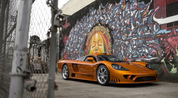 Saleen S7 auction front