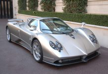 Pagani Zonda F Roadster for sale