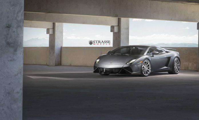 Grigio Lynx Lamborghini Gallardo Final Edition on Strasse Wheels